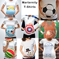 Soccer Maternity Shirt World Cup Pregnancy Announcement Tank Top clothes Summer  For Pregnant Women Cotton Marternity Wear Gift