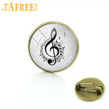 women badge pin symphony