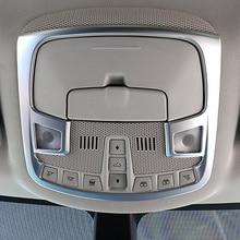 ABS Chrome для Ford Edge 2015 2016 2017 автомобилей для укладки спереди чтение абажур панель отделкой