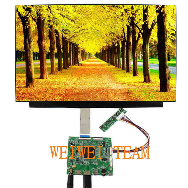 US $123 54 29% OFF|For Raspberry Pi 3 Car 15 6 inch 4k lcd panel UHD IPS  Screen Display HDMI Driver Board LCD Panel Module Monitor ptop PC DIY-in