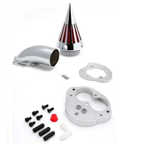 Chrome Spike Air Filter Intake Cleaner Kits For Kawasaki Vulcan 1500 1600 Motorcycle