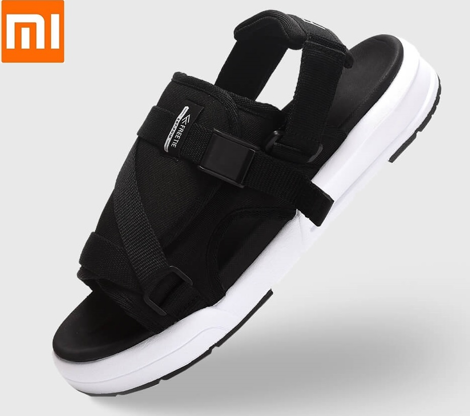 Xiaomi mijia FREETIE Male Summer Fashion Men Beach Outdoor casual sandals Breathable mesh Flexible EVA shoes