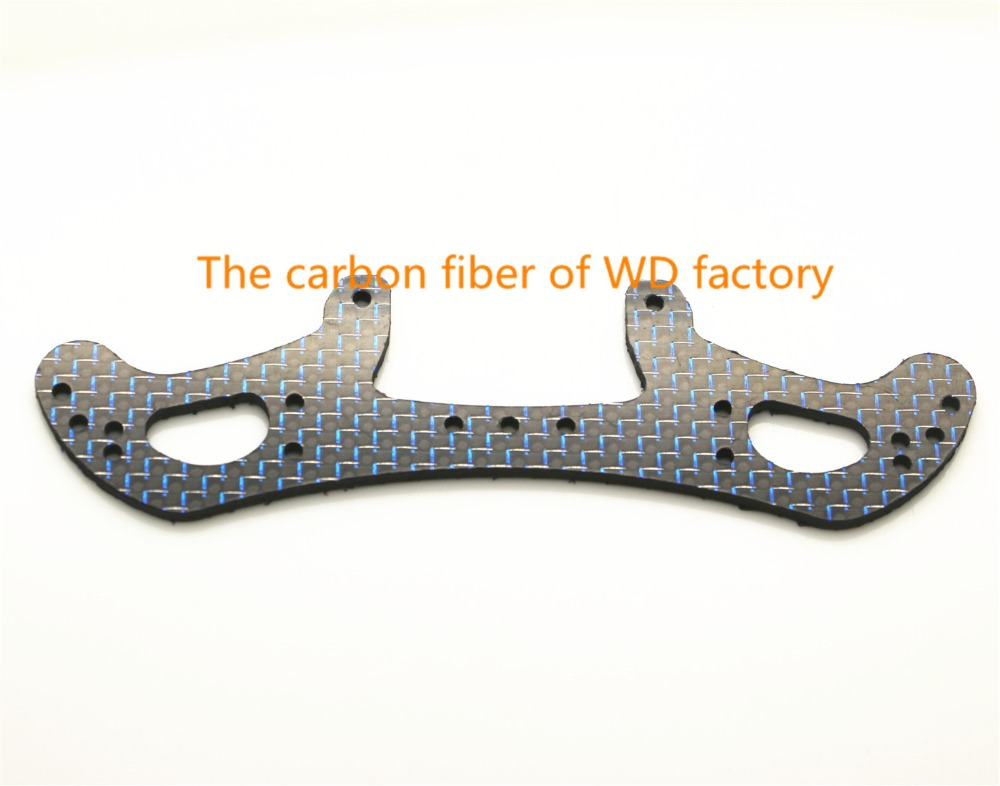 RC MINI 4WD Wide Rear Plate 2mm Carbon Fiber Self made Parts Tamiya MINI 4WD Wide
