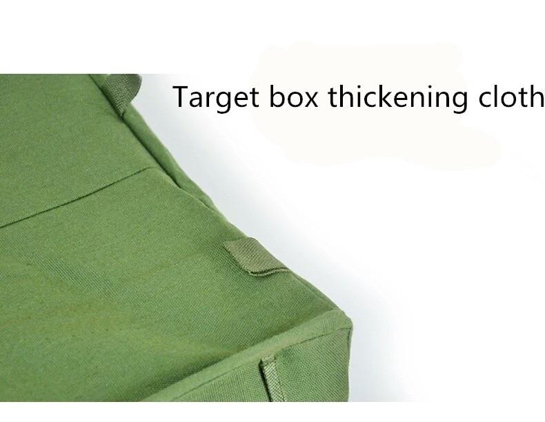 Dobrável estilingue alvo caixa visando prática catapulta