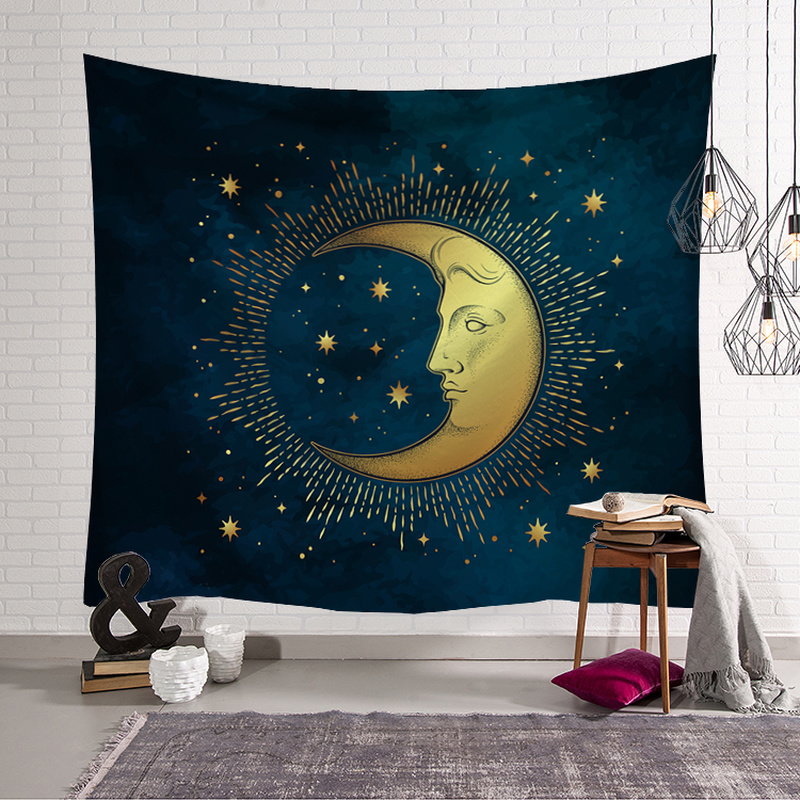 Sun Moon Tapestry Home Decorations Wall Hanging Wall