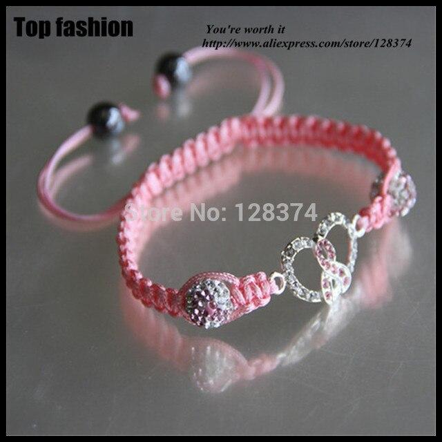 new style rhinestone ribbon paved shambala beads ddf723e4b762