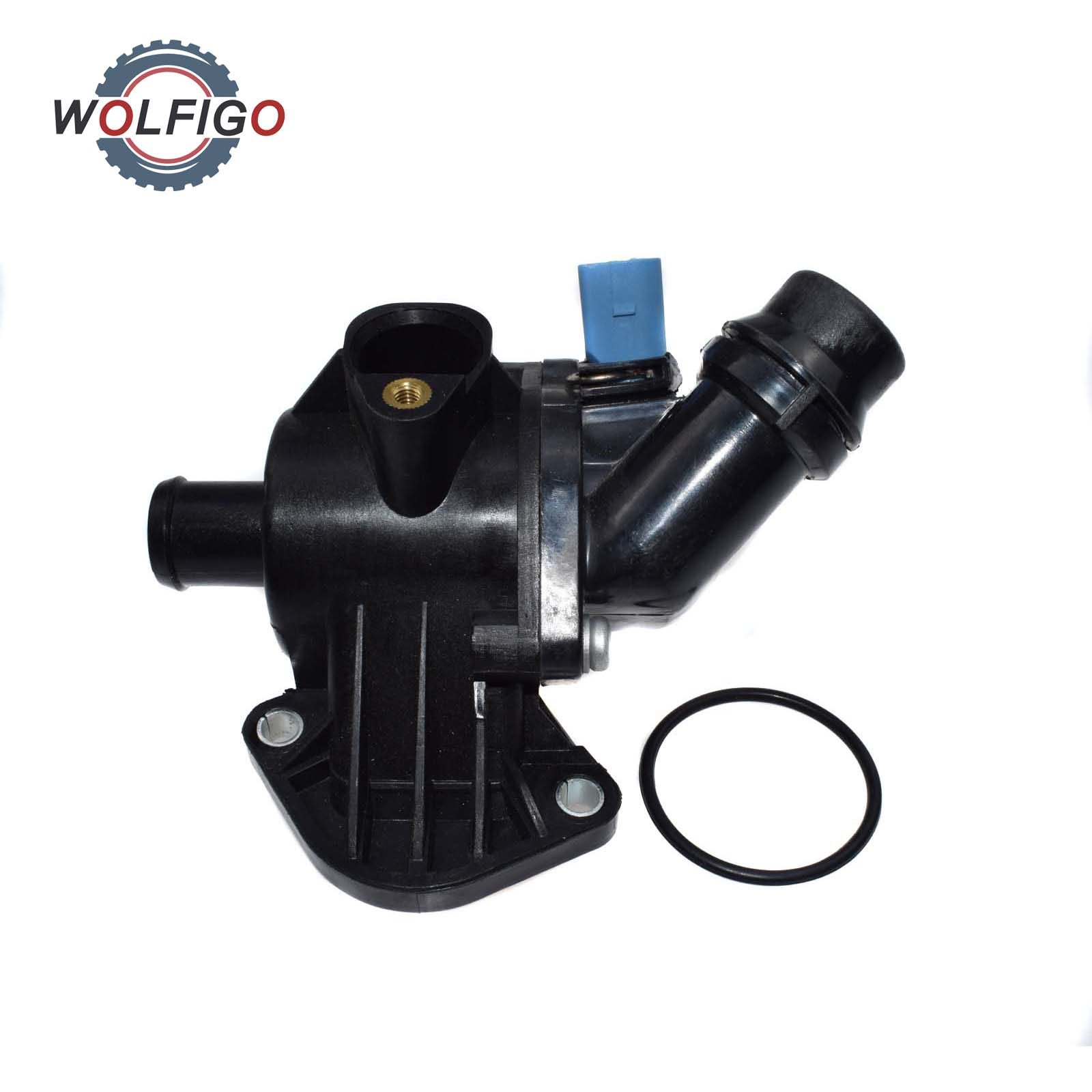 ST 2 thermostat with housing for Audi A4 06B121111K A4 B6 B7 1.8T 2.0