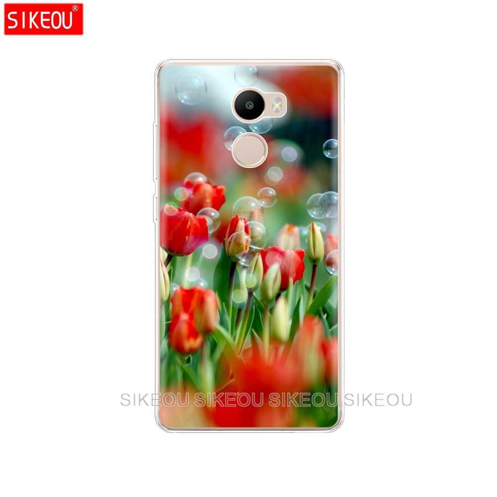 Silikonowe etui na xiaomi Redmi 4 Case coqa obudowa telefonu komórkowego dla xiaomi Redmi 4 pro funda drukuj malowane muszle torby