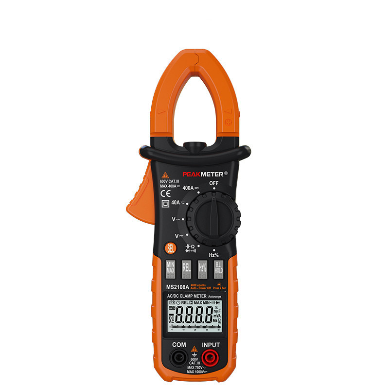 AC / DC Clamp Meter 400A digital clamp meter current clamp цена