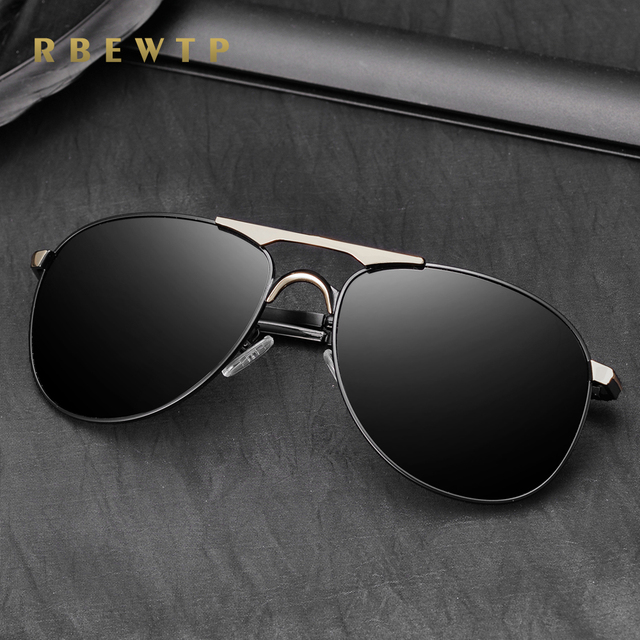 e4df1556534d RBEWTP Polarized sunglasses men brand designer Sun Glasses Driving Glasses  Mirror Goggle Eyewear gafas de sol