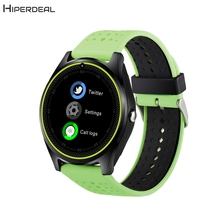 2017 Smart Bluetooth Watch 0.3M Camera Watch Pedometer Fitness Tracker Wearable Devices Smartwatch For Android & IOS Mate AU21a