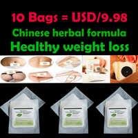 10 borse, Estratto di Chicco di Caffè Verde Naturale fat burner Cinese formula a base di erbe perdita di peso Sano Magnete slimming Patch