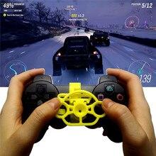MiniพวงมาลัยสำหรับPS3ควบคุมเกมแข่งรถพวงมาลัยจำลองจำลองสำหรับSony PlayStation 3เกมคอนโซล