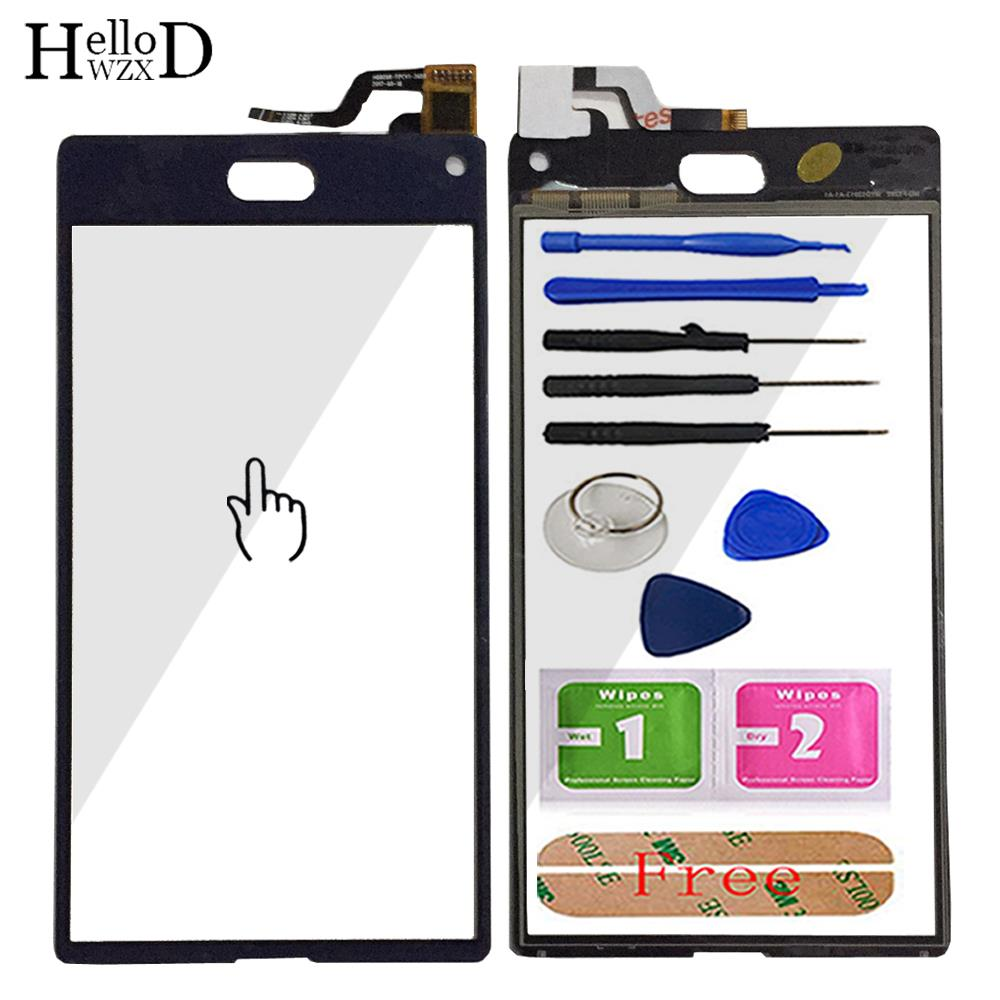 5.2'' Mobile Phone TouchScreen Touch Glass Front For Doogee Mix Lite Touch Screen Glass Digitizer Panel Sensor Tools + Adhesive