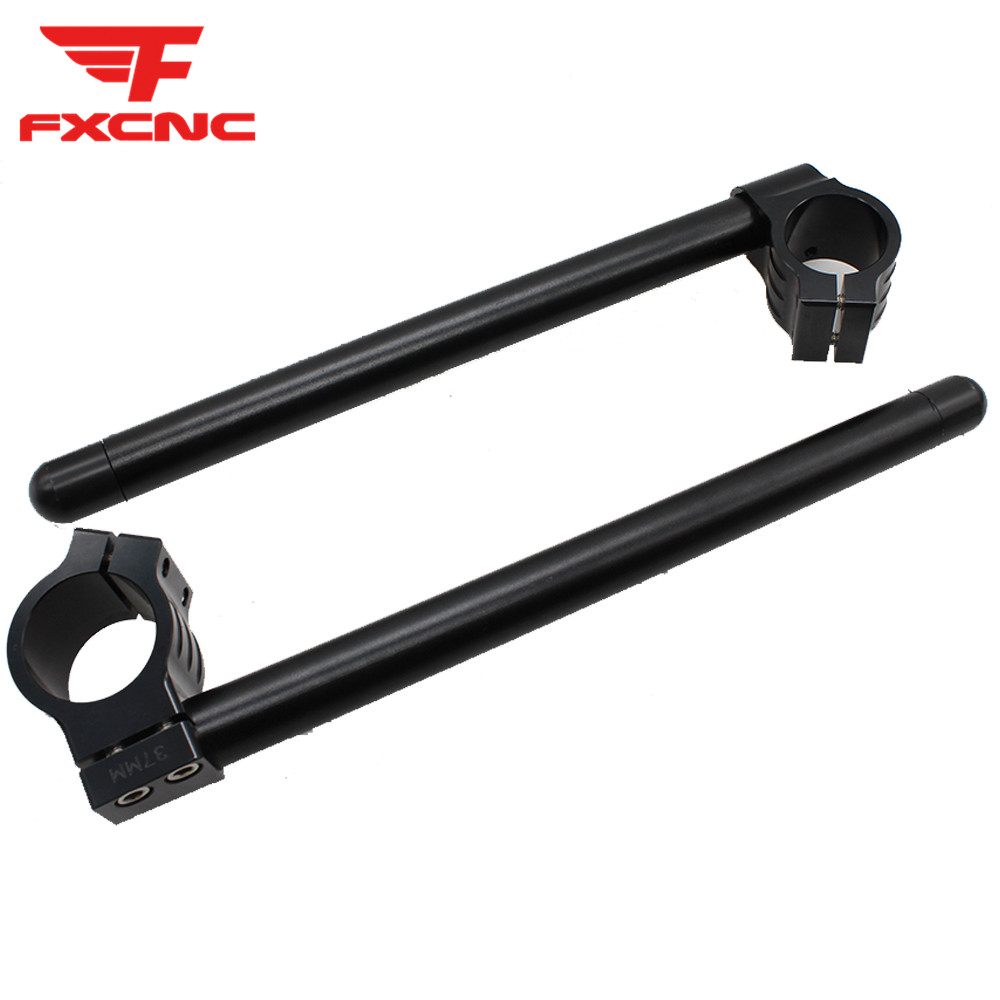 CNC Motorcycle Handlebar Clip On Ons Fork Handle Bars Clip ons For Yamaha YZF R3 2015-2018 YZF R25 2013-2018 R1 R6 Motorbike