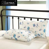 Lilysilk 16 Momme Terse Silk Pillowcase Envelope Closure 100 Pure Mulberry Silk 1 Piece