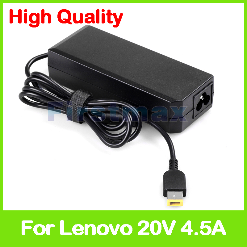 цена на 20V 4.5A 90W laptop ac power adapter charger for Lenovo Thinkpad P51S T460 T460p T460S Erazer Z51-70 Z50-75 Z505 ADP-90XD BB