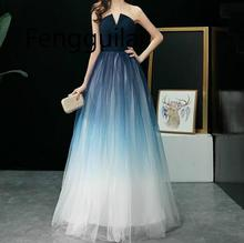 2019 Long Maxi Dress Women Sexy Evening Party Elegant Vestidos Verano Slim Vestido de festa