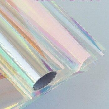 Радужная Виолончель, цветная упаковочная бумага для конфет, торта, печенья, подарочная упаковка, цветной целлофановый рулон