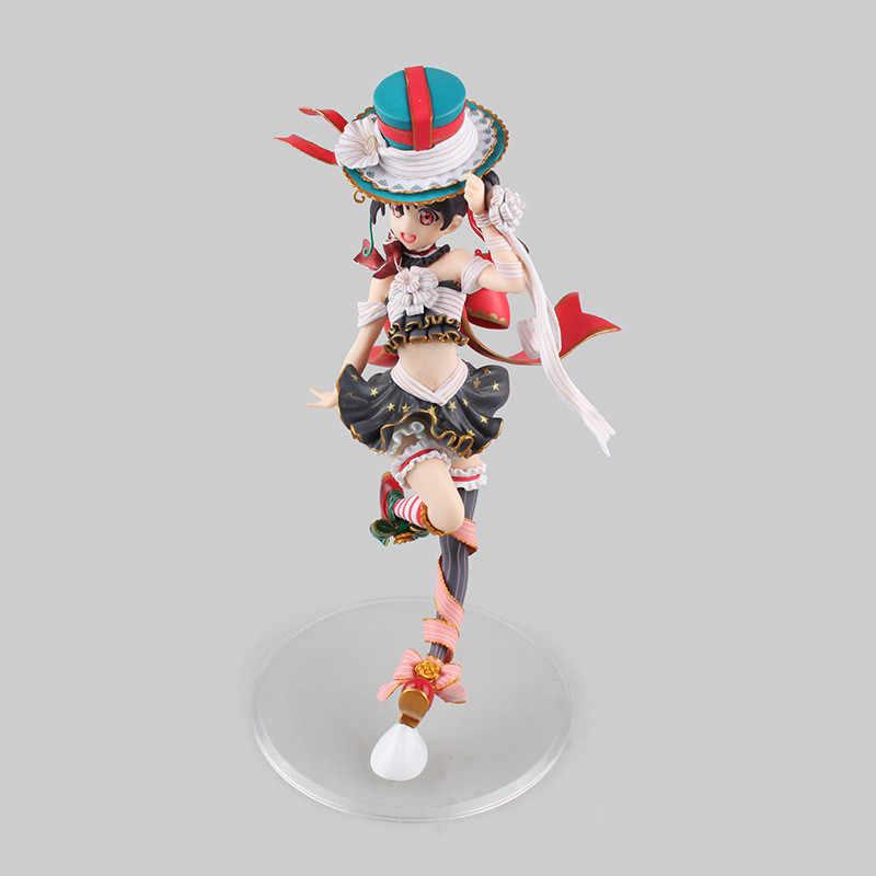 Estatueta Amor Ao Vivo! Ídolo escola Festival Nico Yazawa Alterar Apresenta 1/8 Anime PVC Action Figure Collectible Modelo Toy Boneca