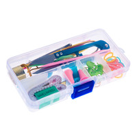Cheap Price 1 SET knitting Accessories DIY Knitting Tools Set Crochet Hook Stitch Weave Accessories Supplied With Case Box