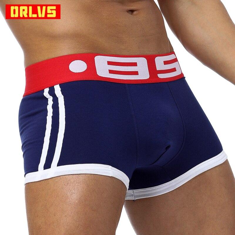 Brand Men Underwear Boxer Sexy Cotton Cuecas Boxers Mens Boxer Shorts Gay Underwear Man Male Boy Underpants Slip BS40