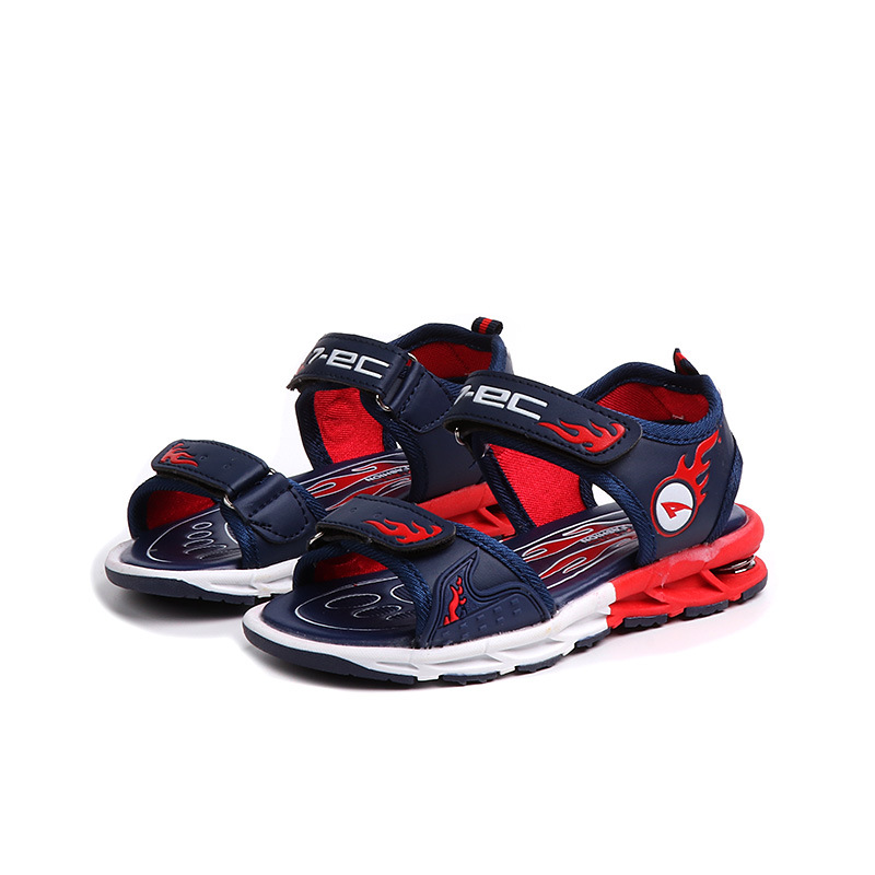 KINE PANDA Summer Little Kids Shoes Teens Boys Sandals Comfortable School Student Big Child Boy Sandals 3-15Y 28-39