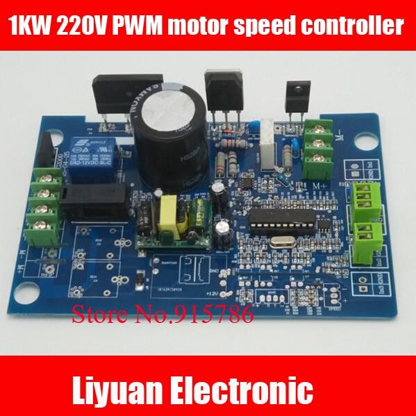 1KW 220 V PWM motor drehzahlregler/500 Watt Universelle ...