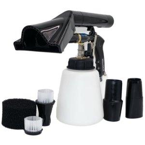 Image 3 - NEW Z 020 air regulator high quality bearring tube tornado gun combo vacuum adapter(2in1 clearn &vacuun )(1whole tornador gun)
