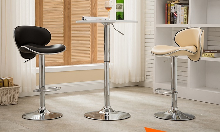 Classic stylish bar chair retail hotel restaurant lift stool beige purple yellow color chair stool wholesale free shipping