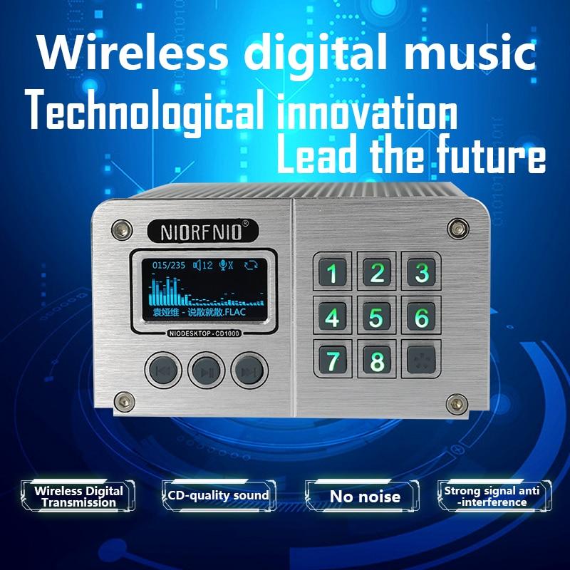2018 новый продукт CD 1000 беспроводной передатчик фоновое музыкальное оборудование для торгового центра
