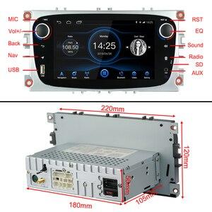 Image 5 - Android 8.1 per Ford Messa A Fuoco Mondeo Galassia S max Car Stereo Autoradio 2GB DDR3 Octa Core 7 Schermo tocco GPS Bluetooth Headunit WiFi