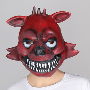 Image 3 - Five Nights At Freddys mask FNAF foxy chica Freddy Fazbear Bear mask for kids halloween party decorations Supplie