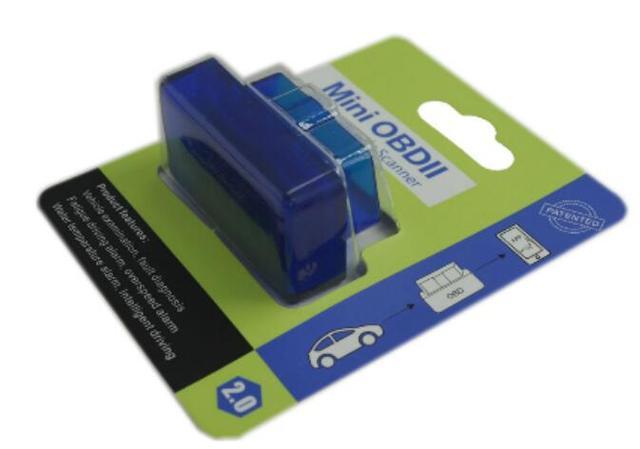 Bluetooth Mini OBDII ELM327 B21 OBD2 Code Reader Bluetooth 2.0/4.0  Hardware V2.1 OBD Diagnostic Scanner For Android/Windows Ra