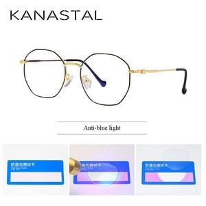 Image 3 - Gafas de protección contra luz azul para hombre y mujer, lentes con montura para juegos de ordenador, resistentes a la radiación, con UV400