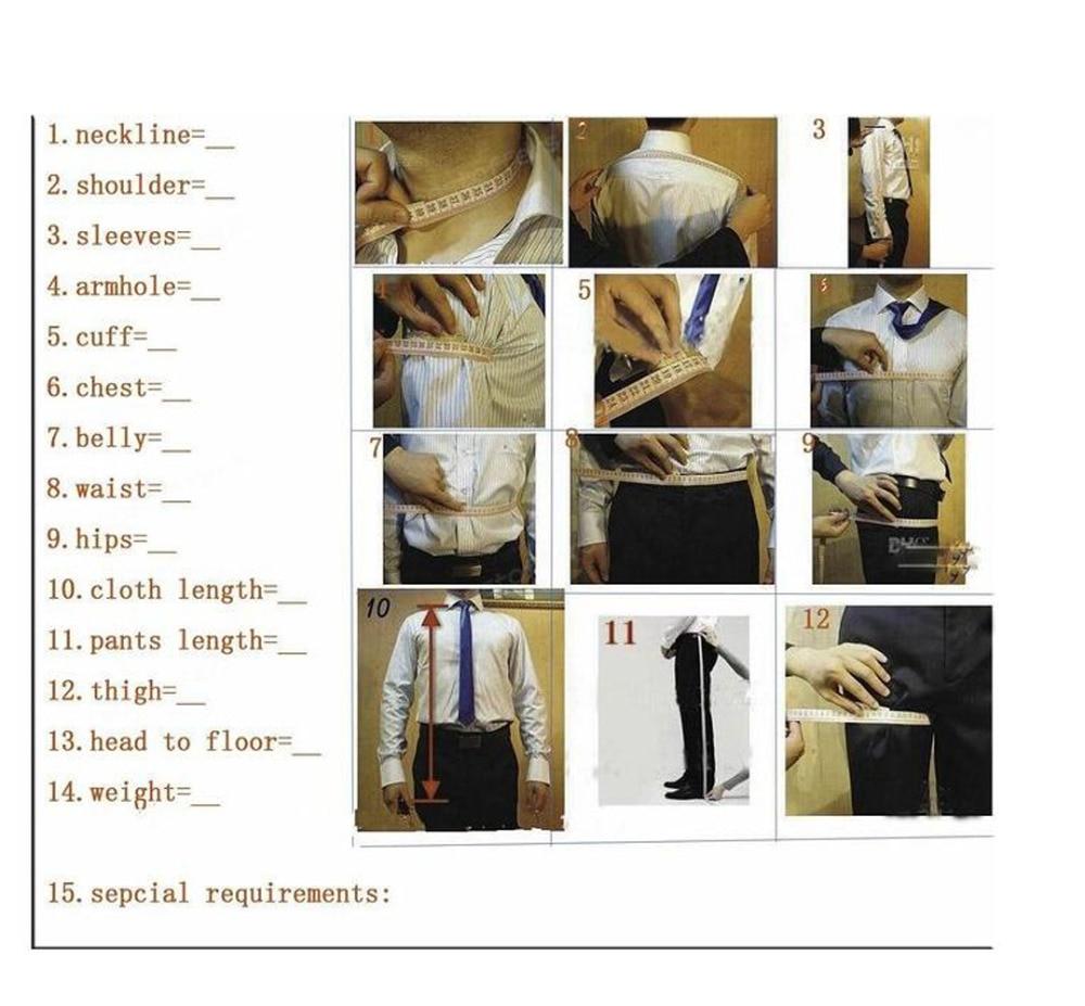 Venta caliente Customizado Trajes de Esmoquin de Novios Trajes de - Ropa de hombre - foto 6