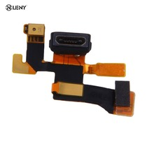 Golden Micro USB Connector Microphone Charging Port Flex Cable For Nokia Lumia 1020 Durable and High quality replacement part