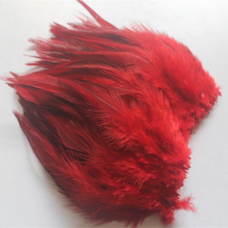 50 шт., красные, красивые, 10 15 см/4 6 дюймов, натуральные листья с шеи фазана, украшение для одежды, шляпы|neck feather|feather diyfeather decor | АлиЭкспресс