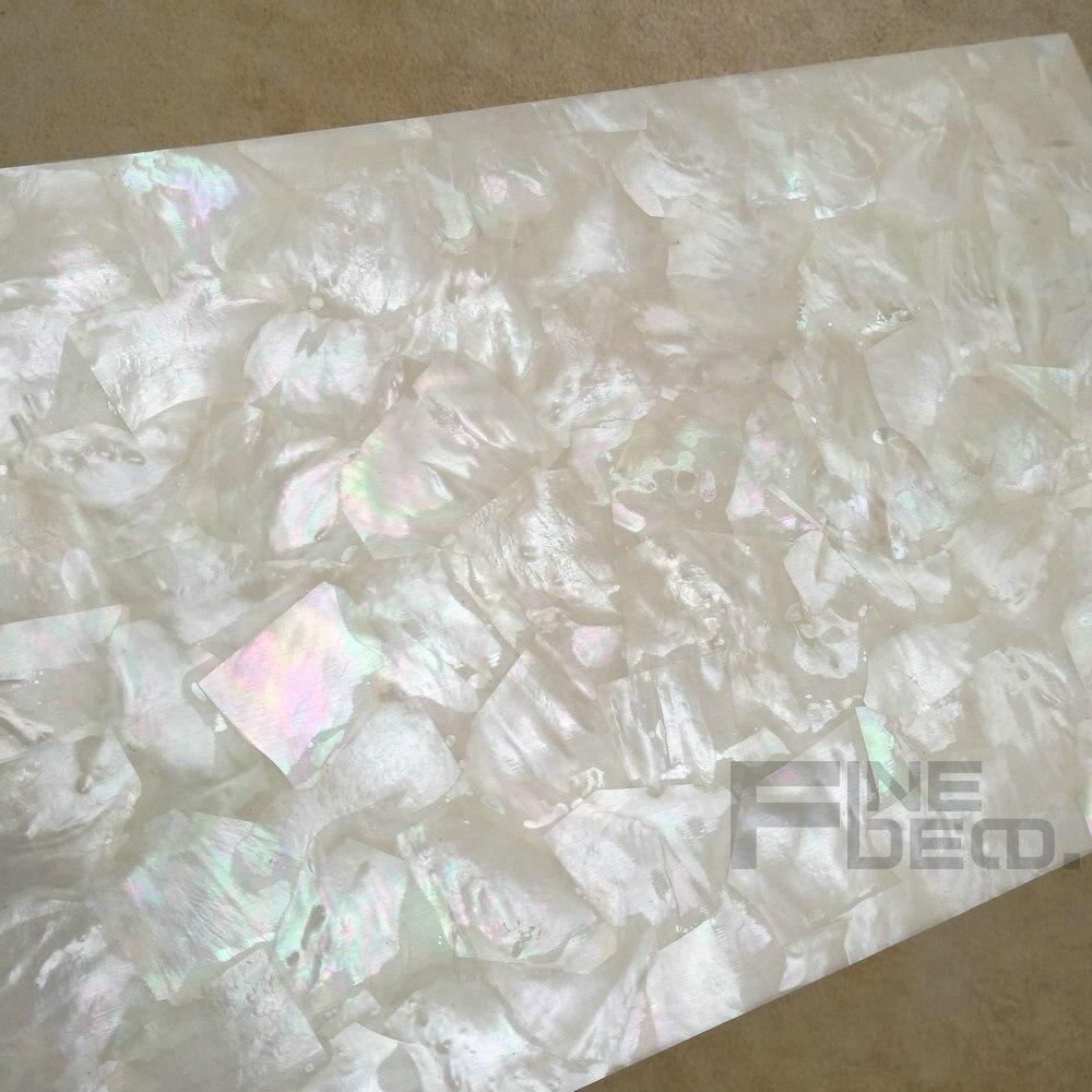 AAA grado superiore bianco madreperla laminato foglio di mosaico ...