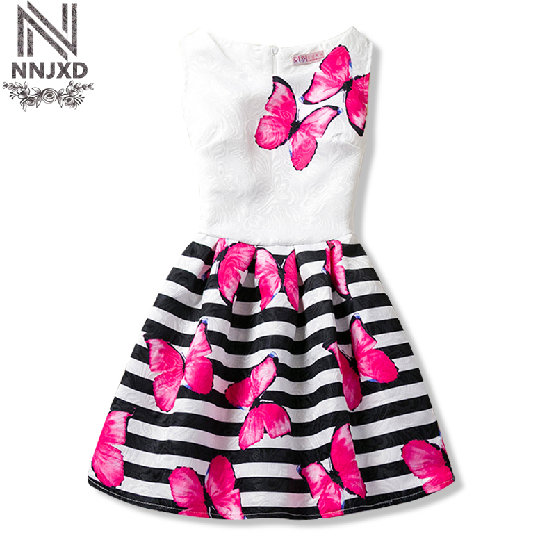 Flower Baby Girls Princess Infant Dress Girl Clothes Dresses Summer School Wear Toddler Girl Kids Party Dress for Girls 6 10 12T summer style girl dress cotton baby dress hollow out girls clothing infant princess dress baby girl clothes kids dresses 3 11