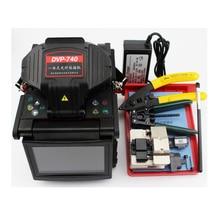 Empalmador de fusión DVP, empalmador de fibra óptica 740, empalmador de fusión DVP 740 FTTH, empalmador de arco de fusión, menú en inglés, DHL