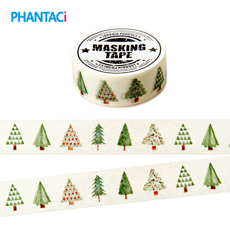 Lovely Hope Tree DIY Washi Tapes / Masking Tape / Decorative Adhesive Tapes / School Supplies Fashion Decorative Sticker