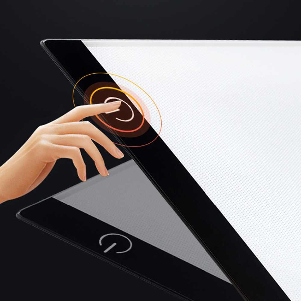2019 new diamond painting A4 LED lightpad Thin Art Drawing Board Light Box Tracing Writing Portable Electronic Tablet Pad