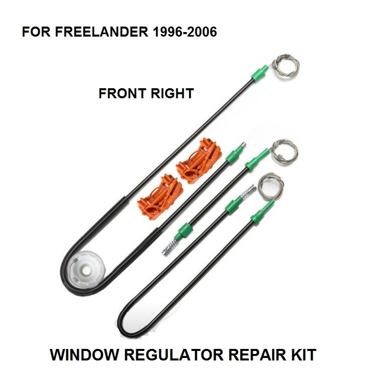 96-06 FOR LAND ROVER FREELANDER 4X4 ELECTRIC WINDOW REGULATOR DOOR REPAIR KIT FRONT RIGHT SIDE NEW