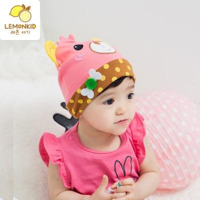 9eb82c70e Buy 2017 Boy Girl Adorable Little Cartoon Dome Adjustable Spring Hat ...