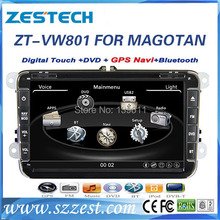 "ZESTECH 8"" Car DVD Gps Navigation for VW MAGOTAN/SAGITAR/BORA/GOLF6/TOUGUAN Car DVD Gps Navigation with GPS/WIFI/RDS/TV"
