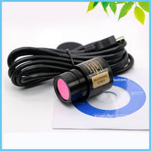 Big discount Win10 5MP Industrial Electronic Eyepiece Video Camera Digital Eyepiece with Ring Adapter for Biological Stereo Microscope