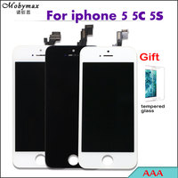 Competitive Price 100 No Dead Pixel AAA For IPhone 5s 5c 5 LCD Display Touch Screen