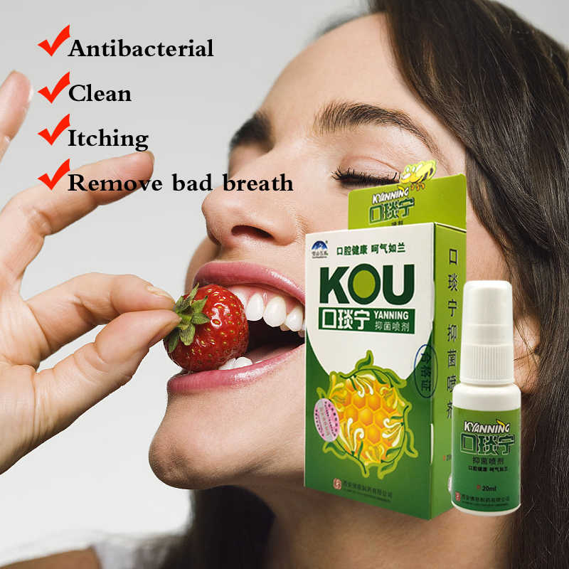 bee Propolis Mouth Clean Oral Spray Treatment Of Oral Ulcer