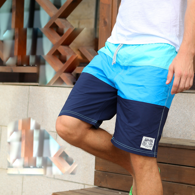 men s swimwear boardshorts font b board b font shorts male bermuda Quick dry cotton sports